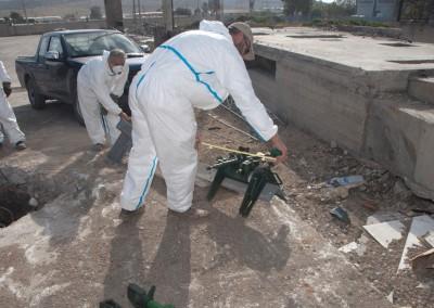 Εργασίες σε πυλώνα στον Ασπρόπυργο 23/11/2015