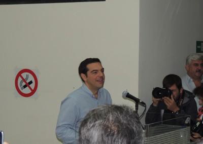 Ο Αλ. Τσίπρας στον ΑΔΜΗΕ, τον Οκτώβριο του 2013