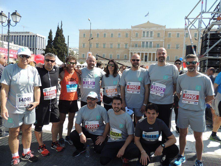 Η ομάδα του ΑΔΜΗΕ στον Ημιμαραθώνιο της Αθήνας