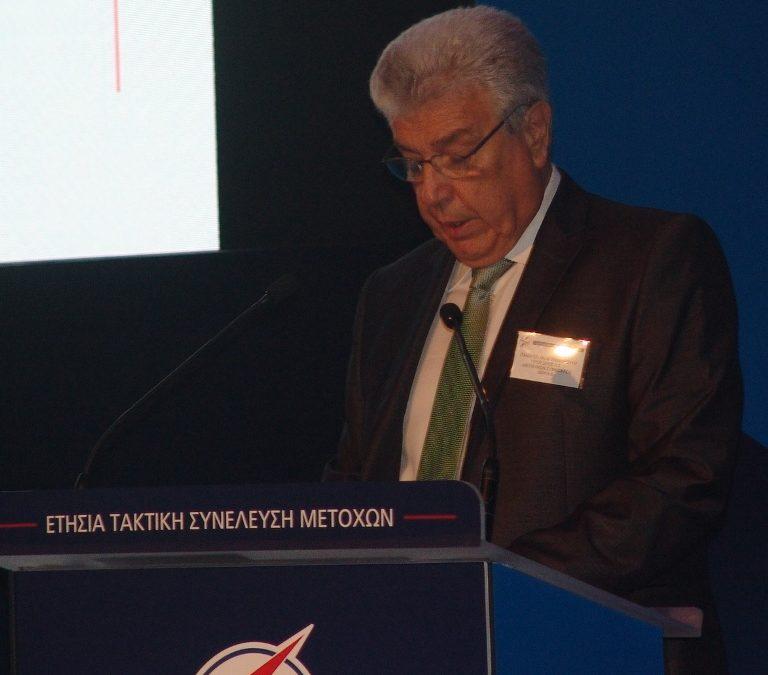 Μ.Παναγιωτάκης: Εξωγενείς παράγοντες «ευθύνονται» για την πτώση της κερδοφορίας