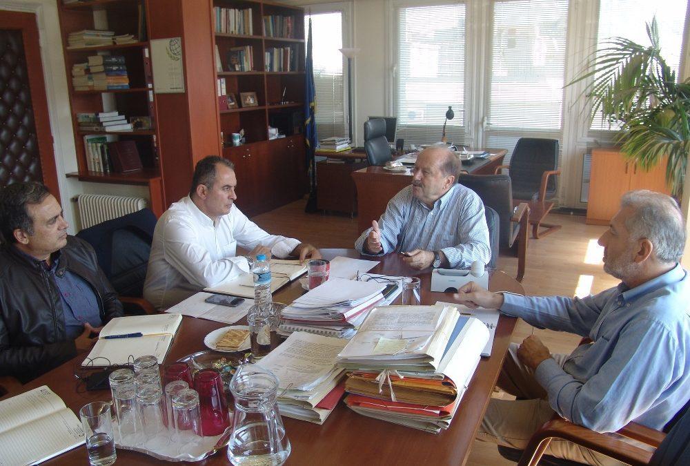 Συνάντηση ΓΕΝΟΠ/ΔΕΗ με τον Διοικητή του Ε.Φ.Κ.Α