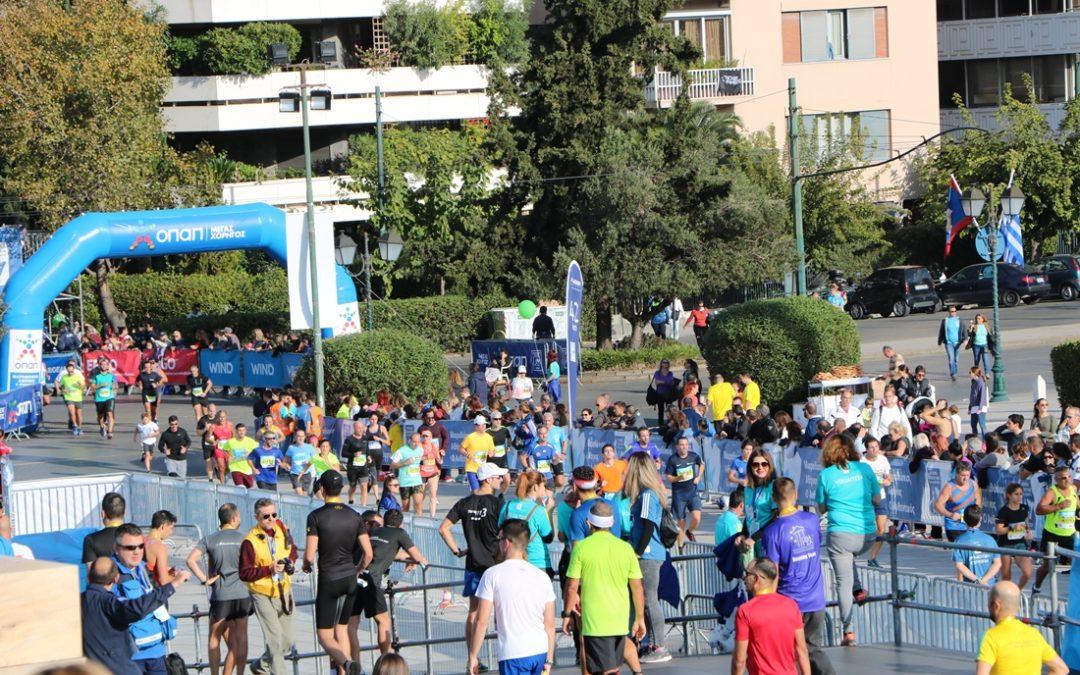 Οι εργαζόμενοι στον ΑΔΜΗΕ στο Μαραθώνιο της Αθήνας