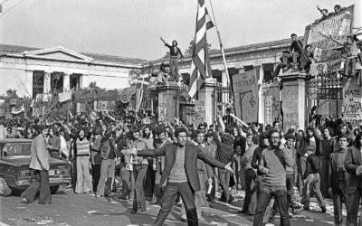 Η εξέγερση του Πολυτεχνείου φωτίζει τους λαϊκούς αγώνες