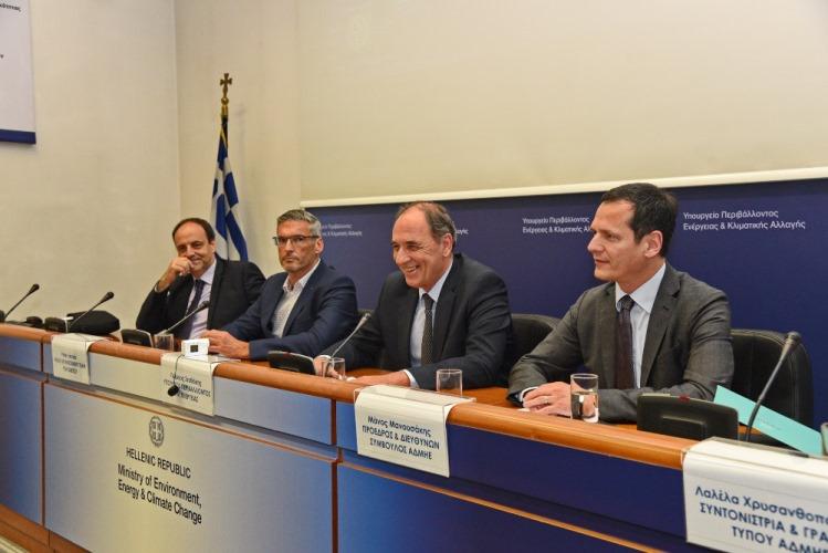Υπογραφή σύμβασης ΑΔΜΗΕ και ΕΤΕπ για τη χρηματοδότηση της μικρής διασύνδεσης