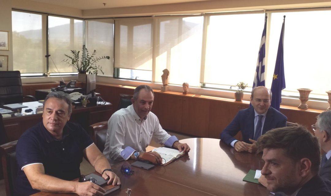 Συνάντηση ΓΕΝΟΠ/ΔΕΗ με την πολιτική ηγεσία του υπουργείου Περιβάλλοντος και Ενέργειας
