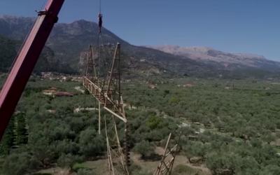 Αναβάθμιση Γραμμών Μεταφοράς – Πρόδρομα έργα ηλεκτρικής διασύνδεσης Πελοποννήσου – Κρήτης